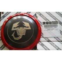 Abarth Fiat 500 Grande EVO Punto piros dekoros felniközép felnikupak 51820507
