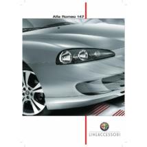 Alfa Romeo 147 Facelift ZENDER Első lökhárító toldat 50903110 lineaccessori ÚJ