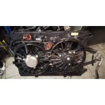 Alfa Romeo 159 Brera Spider 939 2.4 JTD 3.2 JTS 1750TBi dupla hűtőventilátor kerettel komplett 50516244