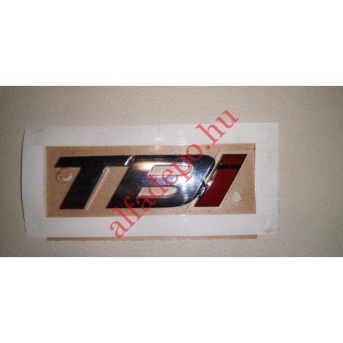 Alfa Romeo 159 TBI hátsó felírat embléma 50516569 ÚJ