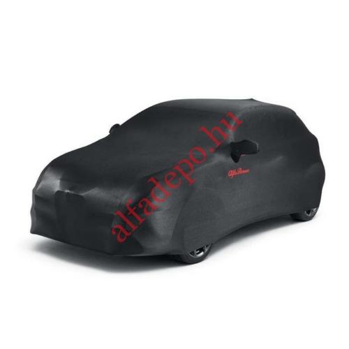 Alfa Romeo MiTo Gyári Takaróponyva fekete színben, táskával